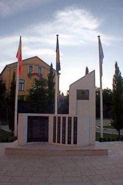 Plaza de España en Mostar