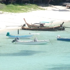 Vistas de Bahia Thian Og desde el garito