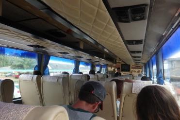 Autobus puerto Chumphon a estacion tren