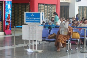 Zona reservada a monjes budistas