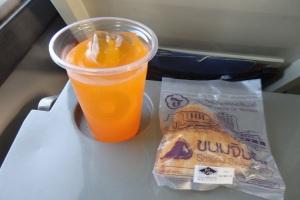 Desayuno en el tren