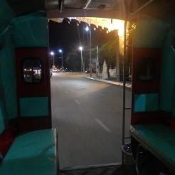 Taxi estacion de Chiang Mai