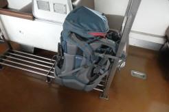 Lugar para poner las mochilas