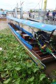 Barcas en Chao Phraya