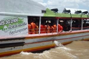 Transporte rio Chao Phraya
