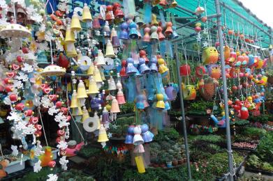 Mercado de flores de Thewet