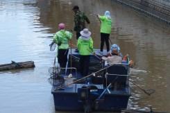 Servicio de limpieza de canales, Bangkok