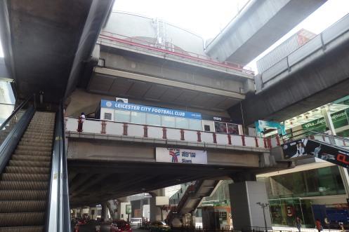 Estacion de SkyTrain de Siam