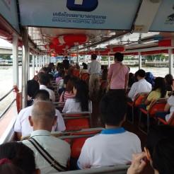 Transporte río Bangkok