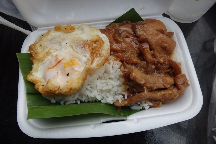 Ternera en salsa con arroz
