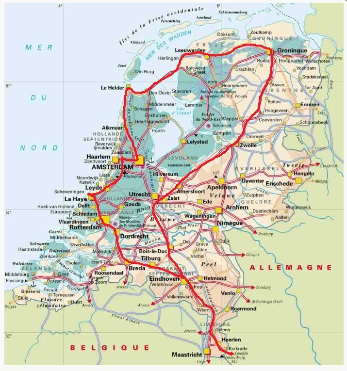 Holanda viaje