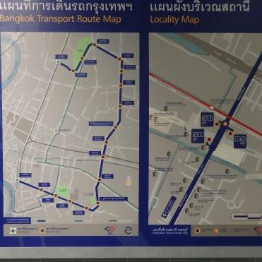 Acceso metro Bangkok
