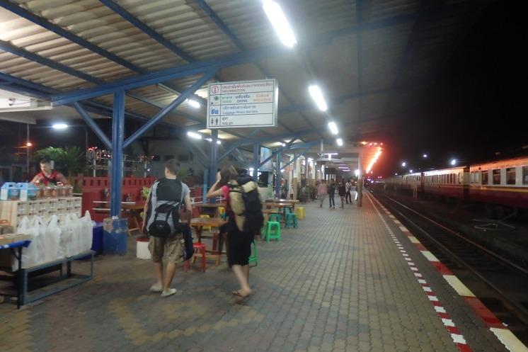 Estacion de tren de Chumphon