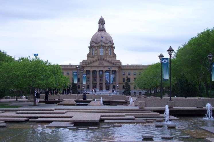 Alberta Provincial Legislature Building