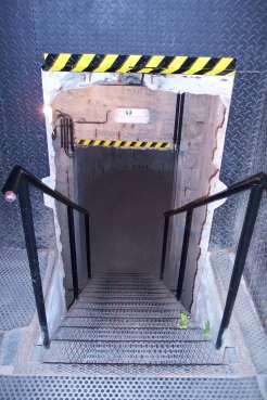 Escalera de entrada al Bunker, Ciudadela