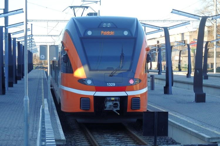 Tren a Paldiski