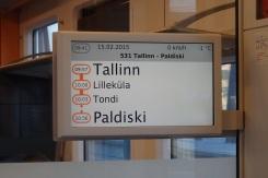 Tren a Tallín