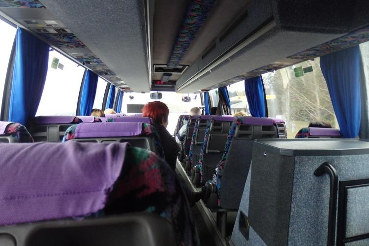 Bus a Haapsalu