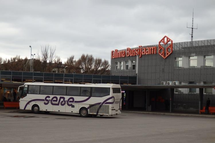 Estación autobuses de Tallín