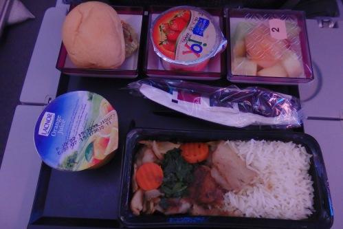 comida Qatar Airways
