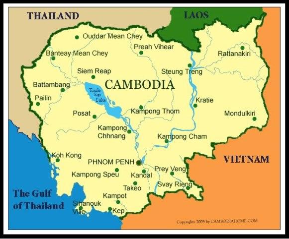 Camboya-mapa