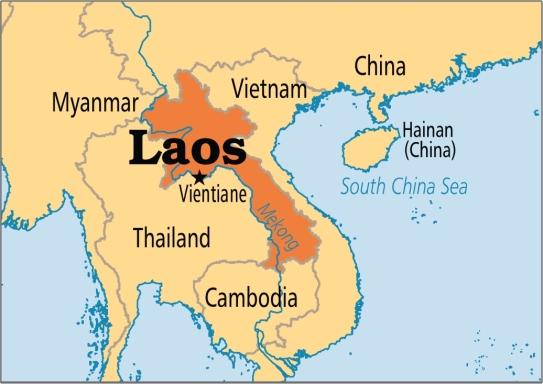 laos-mapa